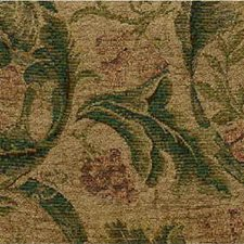 Green/Beige Lattice Decorator Fabric by Kravet
