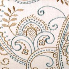 Aqua Decorator Fabric by Highland Court