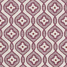 Plum/Red Boucles Decorator Fabric by Highland Court