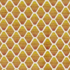 Gold/melon Decorator Fabric by Duralee