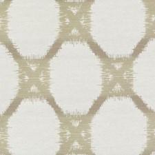 Toast Geometric Decorator Fabric by Duralee