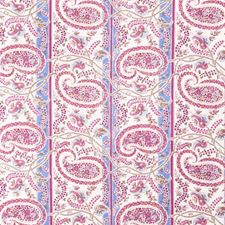 Raspberry Paisley Decorator Fabric by Fabricut
