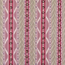 Plum Ethnic Decorator Fabric by Duralee