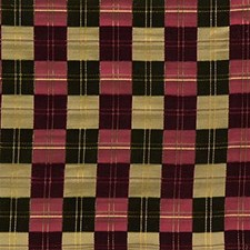 Garnet Plaid Decorator Fabric by Lee Jofa