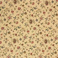 Beige Print Decorator Fabric by Lee Jofa