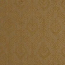 Gold Damask Decorator Fabric by Lee Jofa