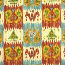 Aqua Ikat Decorator Fabric by Lee Jofa