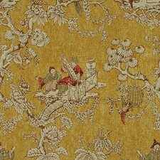 Gold Asian Decorator Fabric by Lee Jofa