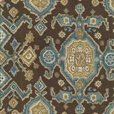 Sepia Ethnic Decorator Fabric by Lee Jofa