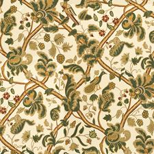 Forest/Berry Jacobeans Decorator Fabric by Lee Jofa