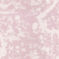 Lilac Toile Decorator Fabric by Lee Jofa