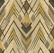 Coal/Ochre Ikat Decorator Fabric by Lee Jofa