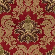 Garnet Embroidery Decorator Fabric by Lee Jofa