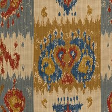 Sapphire/Red Outdoor Decorator Fabric by Lee Jofa