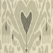 Ebony/Pewter Ethnic Decorator Fabric by Lee Jofa