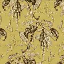Celery/Bark Toile Decorator Fabric by Lee Jofa