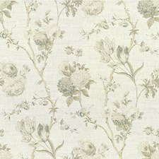 Grey Botanical Decorator Fabric by Lee Jofa