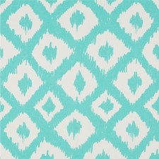 Shorely Blue Ikat Decorator Fabric by Lee Jofa