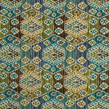 Teal/Forest Velvet Decorator Fabric by Lee Jofa