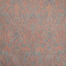 Ruby/Blue Paisley Decorator Fabric by Lee Jofa
