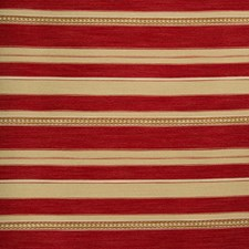 Red/Ochre Ethnic Decorator Fabric by Lee Jofa