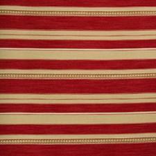 Red/Ochre Ethnic Decorator Fabric by Lee Jofa