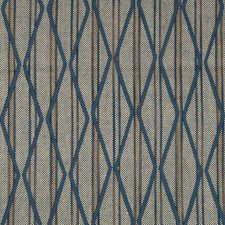 Oyster/Blue Ethnic Decorator Fabric by Lee Jofa