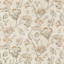 Almond/Pearl Botanical Decorator Fabric by Lee Jofa