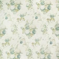 Celadon Botanical Decorator Fabric by Lee Jofa