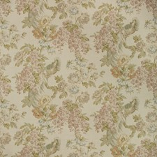 Olive/Plum Botanical Decorator Fabric by Lee Jofa