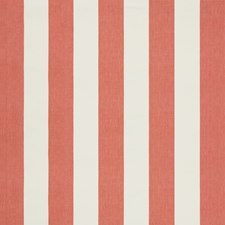 Red Stripes Decorator Fabric by Lee Jofa