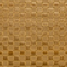 Gold Check Decorator Fabric by Lee Jofa