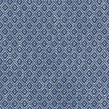Blue Diamond Decorator Fabric by Lee Jofa