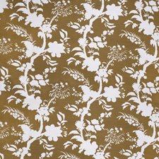 Olive Botanical Decorator Fabric by Lee Jofa