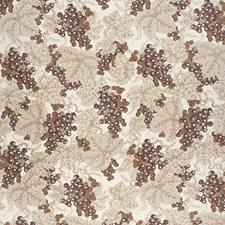 Plum Botanical Decorator Fabric by Lee Jofa