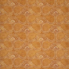Orange Botanical Decorator Fabric by Lee Jofa