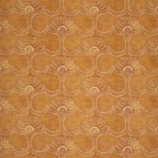 Orange Botanical Decorator Fabric by Lee Jofa