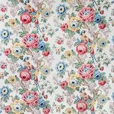 Rose/Gold Botanical Decorator Fabric by Lee Jofa