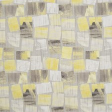 Yellow Contemporary Decorator Fabric by Greenhouse