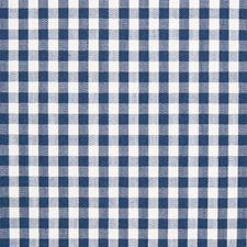 Ocean Check Houndstooth Decorator Fabric by Greenhouse