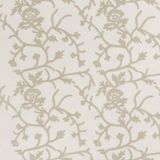 Oyster Embroidery Decorator Fabric by Fabricut
