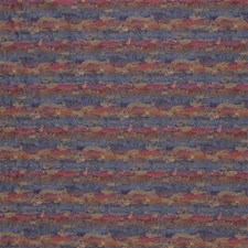 Blue/Burgundy/Red Texture Decorator Fabric by Kravet