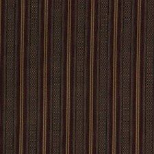 Black/Burgundy/Red Stripes Decorator Fabric by Kravet