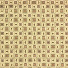 Beige/Grey/Brown Geometric Decorator Fabric by Kravet