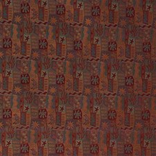 Rust/Multi Decorator Fabric by Kravet