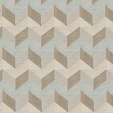 Seaglass Geometric Decorator Fabric by Fabricut