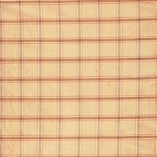 Yellow/Rust Plaid Decorator Fabric by Kravet