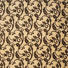 Umber Scrollwork Decorator Fabric by Fabricut