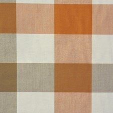 Mocha/Pumpkin Decorator Fabric by RM Coco