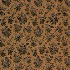 Purple/Beige Botanical Decorator Fabric by Kravet
